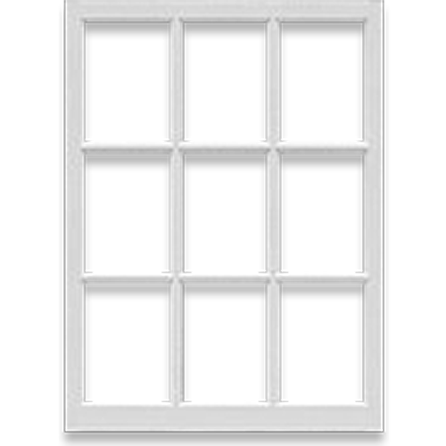 Three Wide Three Tall Window Recycled Products Co